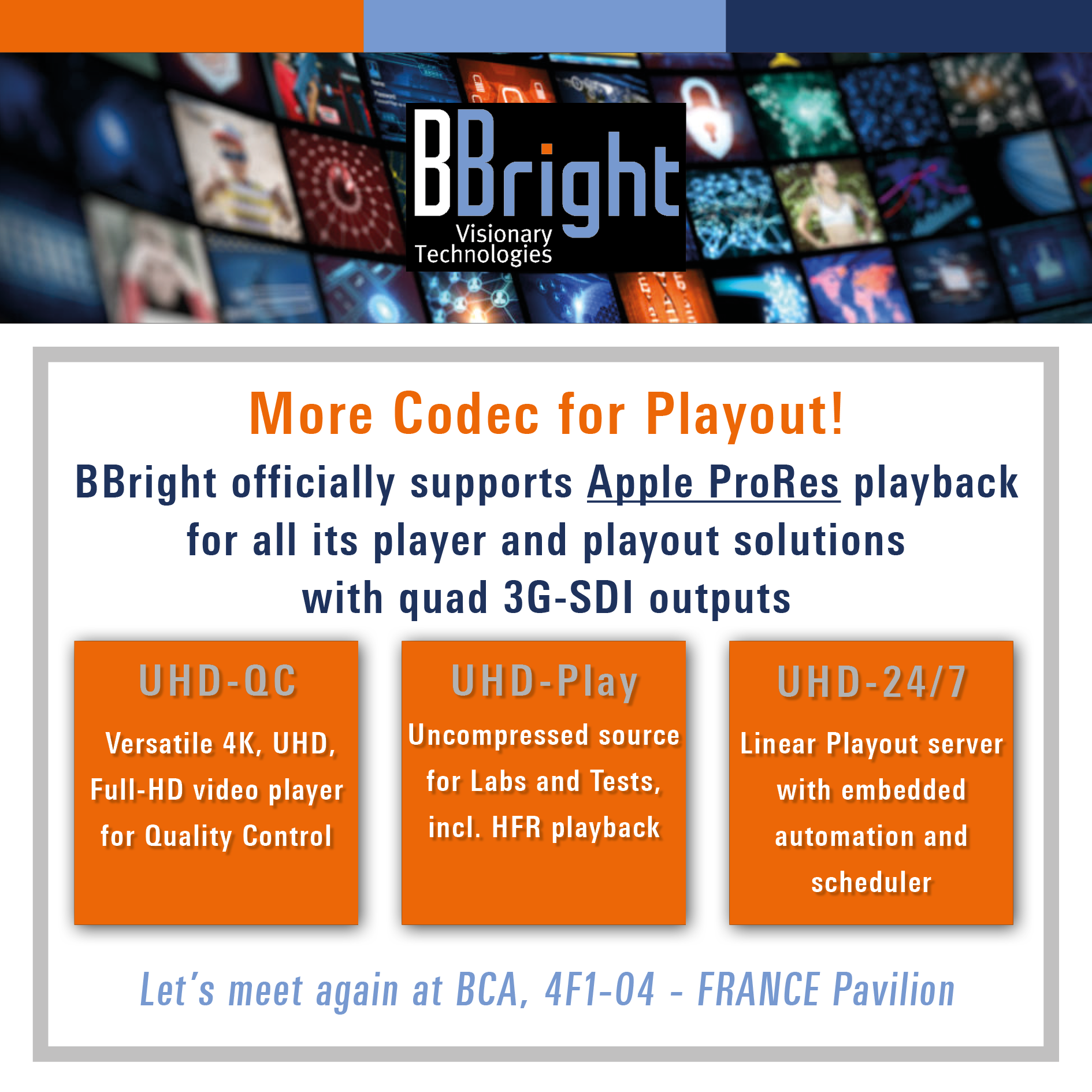 More Codec support for Playout! - BBright